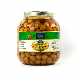 Derya Green Olives cracked in Glass 291-350 1700cc